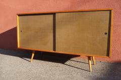Paul McCobb Planner Group Buffet with Grasscloth Sliding Doors by Paul McCobb for Winchendon - 1188330