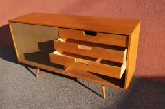 Paul McCobb Planner Group Buffet with Grasscloth Sliding Doors by Paul McCobb for Winchendon - 1188331