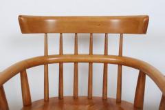 Paul McCobb Set Four Paul McCobb Planner Group Maple Captains Chairs Model 1532 - 1813999