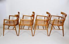 Paul McCobb Set Four Paul McCobb Planner Group Maple Captains Chairs Model 1532 - 1814014