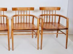 Paul McCobb Set Four Paul McCobb Planner Group Maple Captains Chairs Model 1532 - 1814025