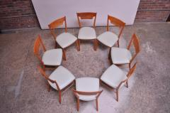 Paul McCobb Set of Eight Stained Maple Dining Chairs by Paul McCobb for Perimeter - 1113935