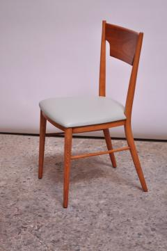 Paul McCobb Set of Eight Stained Maple Dining Chairs by Paul McCobb for Perimeter - 1113949