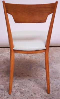 Paul McCobb Set of Eight Stained Maple Dining Chairs by Paul McCobb for Perimeter - 1113950
