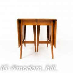 Paul McCobb Style Heywood Wakefield Mid Century Drop Leaf Dining Table - 1869590