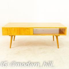 Paul McCobb Style Orwa Designs Blonde Coffee Table - 1869237