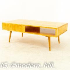 Paul McCobb Style Orwa Designs Blonde Coffee Table - 1869238