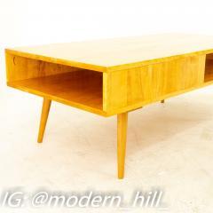 Paul McCobb Style Orwa Designs Blonde Coffee Table - 1869240
