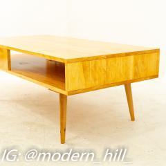 Paul McCobb Style Orwa Designs Blonde Coffee Table - 1869241