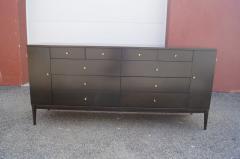 Paul McCobb Twenty Drawer Ebonized Dresser by Paul McCobb for Rapids Furniture - 2115639