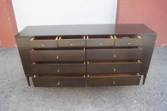 Paul McCobb Twenty Drawer Ebonized Dresser by Paul McCobb for Rapids Furniture - 2115640