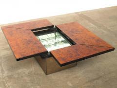 Paul Michel Paul Michel Burl Wood Multi Functional Coffee Table   407495