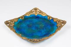 Paul Millet Platter with Gilt Metal Surround by Paul Millet for Sevres - 426353