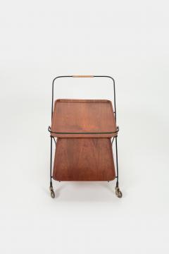 Paul Nage Design Trolley with wheels JIE Gantofta Sweden - 2016278