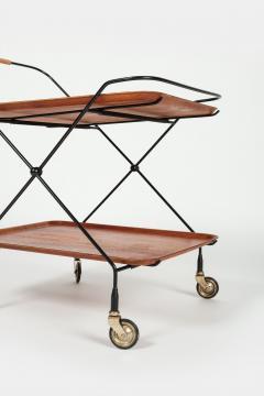 Paul Nage Design Trolley with wheels JIE Gantofta Sweden - 2016280