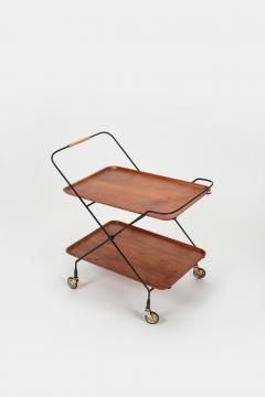 Paul Nage Design Trolley with wheels JIE Gantofta Sweden - 2016310