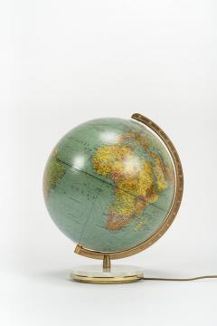 Paul Ostergaard Duplex illuminated globe with marble base 70s - 1837913