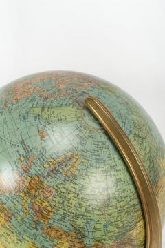 Paul Ostergaard Duplex illuminated globe with marble base 70s - 1837928