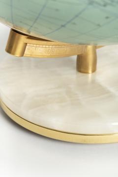 Paul Ostergaard Duplex illuminated globe with marble base 70s - 1837929