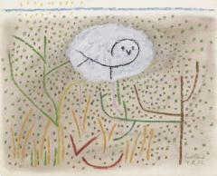 Paul Rand Untitled Owl in the Grass - 1156868