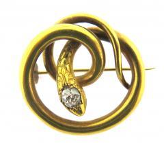 Paul Robin Paul Robin Diamond and Ruby Snake Pair of Pins - 178571