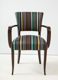 Paul Smith French 1940s Paul Smith Striped Armchairs - 1576080