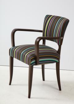 Paul Smith French 1940s Paul Smith Striped Armchairs - 1576081