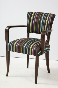 Paul Smith French 1940s Paul Smith Striped Armchairs - 1576083