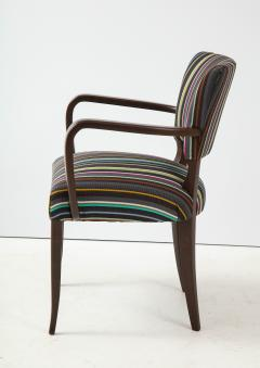 Paul Smith French 1940s Paul Smith Striped Armchairs - 1576084