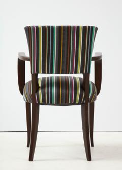 Paul Smith French 1940s Paul Smith Striped Armchairs - 1576086