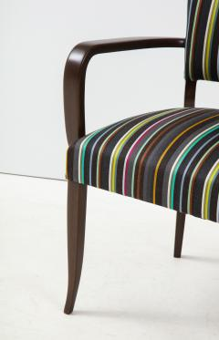 Paul Smith French 1940s Paul Smith Striped Armchairs - 1576087