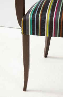 Paul Smith French 1940s Paul Smith Striped Armchairs - 1576089