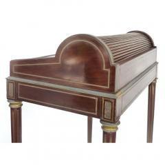Paul Sormani 19th Century French Paul Sormani Cylinder Writing Desk in Walnut - 1028714