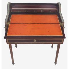 Paul Sormani 19th Century French Paul Sormani Cylinder Writing Desk in Walnut - 1028715