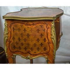 Paul Sormani French Kingwood and Mahogany Veneered Ormolu Mounted Dressing Table - 1566774