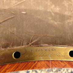 Paul Sormani French Kingwood and Mahogany Veneered Ormolu Mounted Dressing Table - 1566775