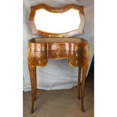 Paul Sormani French Kingwood and Mahogany Veneered Ormolu Mounted Dressing Table - 1566778