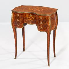 Paul Sormani French Kingwood and Mahogany Veneered Ormolu Mounted Dressing Table - 1566779