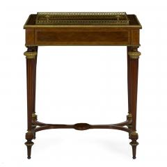 Paul Sormani French Marquetry Wine Serving Accent Table by Paul Sormani Fils - 1019397