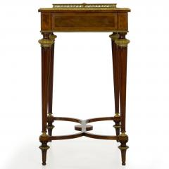 Paul Sormani French Marquetry Wine Serving Accent Table by Paul Sormani Fils - 1019398