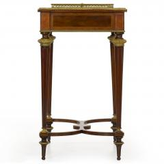 Paul Sormani French Marquetry Wine Serving Accent Table by Paul Sormani Fils - 1019402