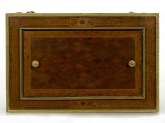 Paul Sormani French Marquetry Wine Serving Accent Table by Paul Sormani Fils - 1019404