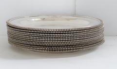 Paul Storr Set of 12 silver dinner plates by Paul Storr - 1318143