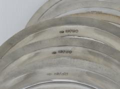 Paul Storr Set of 12 silver dinner plates by Paul Storr - 1318149