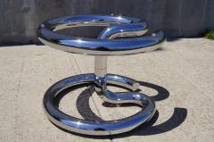 Paul Tuttle Glass and Chrome Anaconda Coffee Table by Paul Tuttle for Str ssle - 107034