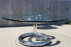 Paul Tuttle Glass and Chrome Anaconda Coffee Table by Paul Tuttle for Str ssle - 107040