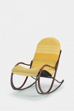 Paul Tuttle Nonna rocking chair Paul Tuttle 70s - 1537712