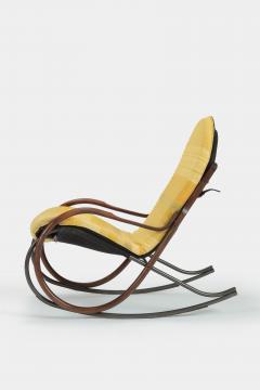 Paul Tuttle Nonna rocking chair Paul Tuttle 70s - 1537820