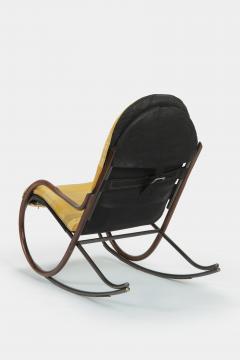 Paul Tuttle Nonna rocking chair Paul Tuttle 70s - 1537822