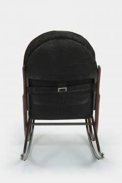 Paul Tuttle Nonna rocking chair Paul Tuttle 70s - 1537882